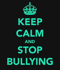 Yes let's stop bullying