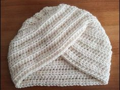Crochet Bonnet Turban facile - YouTube