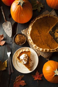 Thanksgiving Tradition: Pumpkin Pie