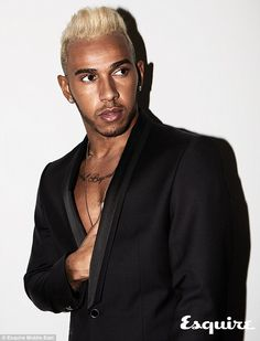 Lewis Hamilton showed he is a fashion icon as well as a three-time Formula One World champion when he featured on the front cover of the latest edition of Esquire Middle East. Mexico Grand Prix, British F1, F1 Grid Girls, F1 Lewis Hamilton, Formula One Champions, Male Fashion Trends, Men's Fashion, Valtteri Bottas, Nico Rosberg
