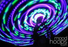 Luna LED Hula Hoop - moodhoops.com