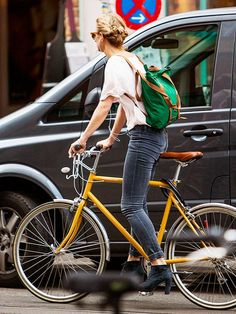 The 19 Pieces You Need For A Stylish Bike Ride via @WhoWhatWear I want her shoes! @thisgirlnamedt