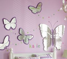 Butterfly Mirrors omg love these
