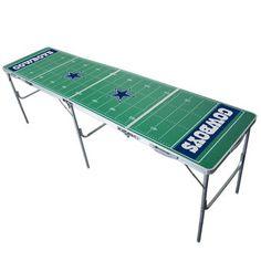 Dallas Cowboys 2' x 8' Tailgate Table
