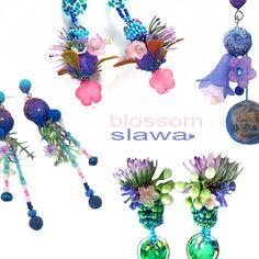 Sława  Tchórzewska  niche jewellery: Floral inspiration