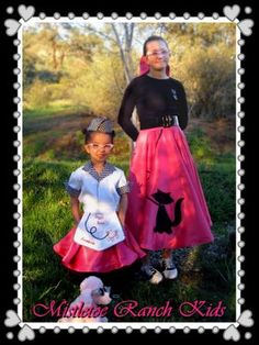 41 Best Poodle Skirts Images Poodle Skirts 50s Costume