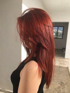 Cut My Hair, Hair Cuts, Red Hair Inspo, Hair Color Streaks, Pretty Hair Color, Coloured Hair, Aesthetic Hair, Ginger Hair, Hair Trends