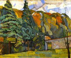 Roger Fry #tree #landscape #art