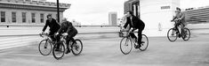 #atlanta #bicycle #black and white #business #cycling #suits 4k