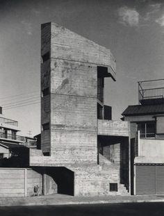 The Tower House by Takamitsu Azuma (1966)