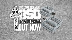 Introducing the Reed Stark signature Safari Pedal - Designed for the second try. The Safari Pedal features: - 20 optimally placed hexagonal pins per side -… Concave, Bmx, Safari, Two By Two, Interview, Surface, Construction, Design, Products