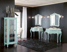 italian bathroom furniture french italian bathroom furniture in blue handmade in cherrywood this traditional bathroom collection