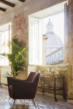 Beautiful hotel in Italy on Apartment 34 Rome Apartment, Apartment Interior, To Go, Wanderlust, Loft House, Room Paint Colors, Luxury Decor, Luxury Apartments, Decoration