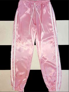 ~*~*~V SILKY~*~*V PRECIOUS~*~*~ Get a v smooth v soft booty lewk wit this lil silk kitten trackiez   Slim Fit Drawstring Elastic waistband Lightweight Size up for a baggier fit