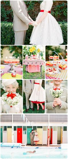 50's-Themed-Wedding