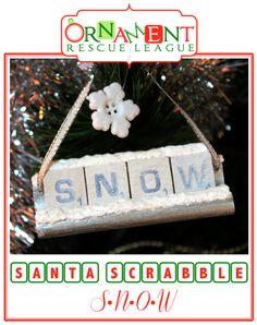 Ten fun and easy Scrabble ornament ideas! Scrabble Ornaments Diy, Scrabble Pieces Crafts, Scrabble Letter Crafts, Scrabble Art, Diy Christmas Ornaments, Christmas Fun, Scrabble Tiles, Ornaments Ideas, Christmas Crafts For Gifts
