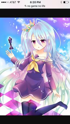 Oh I love this Annamae character from no game no life
