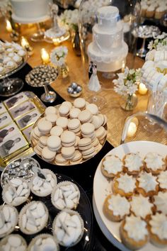 Winter dessert bar via @Darcy Miller for @Mark Ingram Atelier 10th Anniversary party
