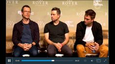 VIDEO: Rob, Guy and David Michôd's Full Interview With Ten (Australian  Junket)