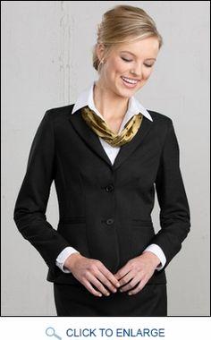 Hotel uniforms site - princess seamed 2-button blazer