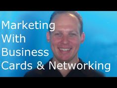 Business card marketing: marketing by giving out business cards #marketing