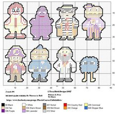 MCDONALDS CHIBIS FOR PLASTIC CANVAS CREATIONS Plastic Canvas Ornaments, Plastic Canvas Tissue Boxes, Plastic Canvas Crafts, Plastic Canvas Patterns, Beading Patterns, Embroidery Patterns, Cross Stitch Patterns, Mcdonalds, Yarn Crafts
