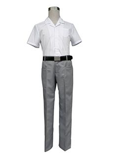 Mtxc Men's Bleach Cosplay Karakura High School Summer Uniform Size Medium White Mtxc http://www.amazon.com/dp/B00NXX88IC/ref=cm_sw_r_pi_dp_jl0Qub1HDABYR