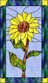 from www.plentyofpatterns.com -one of the best sunflower patterns I've seen!