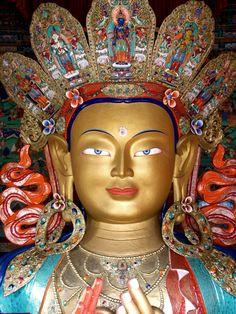 Bodhisattva Maitreya, Tikse Gompa, Ladakh, 20th c.