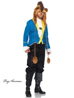 Disney knows how to captivate the hearts of women everywhere, so follow their lead by ordering this unofficial Beast Adult Costume for Halloween