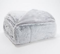 A gift they'll love you for, this luxe faux fur throw tops the list of must-haves for all your faves who give you the warm and fuzzies. (There's a gift box, too!) From Berkshire Blanket. Fluffy Blankets, Fuzzy Blanket, Throw Blankets, Teen Blankets, Blanket Box, Christmas Wishes, Christmas Birthday, Christmas Ideas, Christmas Stuff
