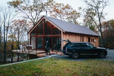 Hudson Woods located in the Hudson Valley, NY - Designed by Lang Architecture