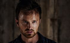 Download wallpapers Aaron Paul, American actor, portrait, Hollywood stars