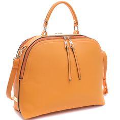 0df983dce3d New 2018 Dasein Women Handbag Faux Leather Satchel Tote Bag Zipper Dome  Purse