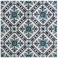 Decorative cement tiles have been used all around the world since the 19th century, and are still very popular among the design industry today! These beautifully unique pieces are handmade by artisans, making this series a green product! With over 85 colours available and just as many patterns, colour combinations and designs are unlimited!     …