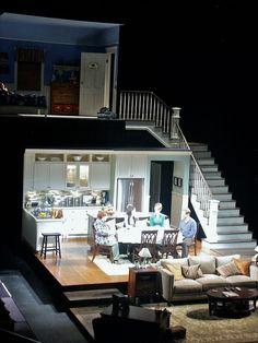 Scenic design by Luke Cantarella. Set Design Theatre, Prop Design, Stage Design, Luxury Home Decor, Luxury Homes, Stage Set, Scenic Design, Screen Design, Contemporary Wall Art