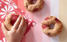 Baked Whole Wheat Raspberry Doughnuts from Parade Mag
