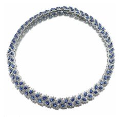 Sapphire & Diamond Necklace, Tiffany & Co.