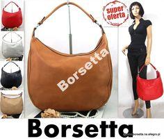 Damska Torebka black brown czerwona worek K28 #torebka # torebka damska