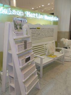 Maison Martin Margiela Display by Elemental Design.