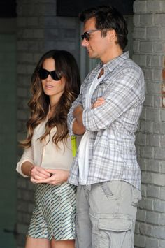 Kate Beckinsale rocks wavy long hair this past weekend, and we're in love.