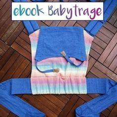 Praktische Babytrage, damit es die Kleinen schön gemütlich haben - Schnittmuster und Nähanleitung via Makerist.de