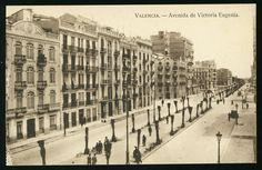 Avenida de Victoria Eugenia (actual Antic Regne de València)
