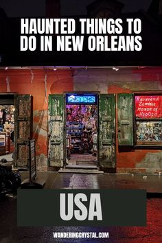haunted places in New Orleans, things to do in New Orleans, Spooky things to do in New Orleans, ghost tours in the French Quarter, things to do in the french quarter New Orleans, French Quarter history, tours in New Orleans, cemeteries in New Orleans, Voodoo history in New Orleans, Marie Laveau's House of Voodoo, Voodoo Queen of New Orleans, things to do in NOLA, wanderingcrystal, haunted places to visit in New Orleans, vampires in New Orleans, St Louis Cemetery #NewOrleans #DarkTravel #USA