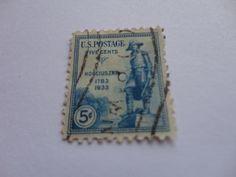 5 cents Kosciuszko 1783-1933 Old U.S. Postage Stamp