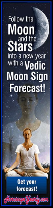 Follow the moon and the stars in 2015 with a vedic moon sign forecast! Foretelling the future is one popular subject all over the world. This is due to the reason that nobody really knows what lies ahead in their life. We provide the all the answer to all your question related to your future queries For more information you can also visit us at: http://www.horoscopeyearly.com/value-of-vedic-astrology/