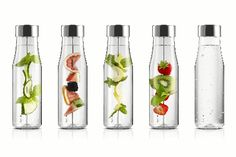 Eva Solo My Flavour Carafe- included is a drinking spike, which allows you to add fruit to your water in order to flavour it as you would like to!