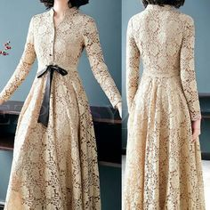 Nigâr DereさんはInstagramを利用しています:「Ezpopsy Apricot Belted Lace Hollow Out Maxi Dress . . #elbise #elbisemodelleri #dresses #dress #sew #sewing #sewinglove #sewingroom…」