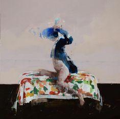 Broad brushstrokes by Alex Kanevsky
