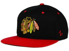 Chicago Blackhawks Zephyr NHL Snapback Hat